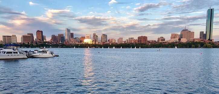 Charles River in Boston